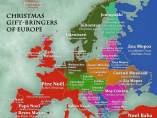 Los nombres de Papá Noel