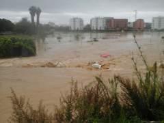 Málaga se lleva la peor parte del temporal en Andalucía