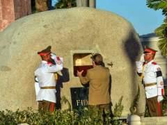 Los restos de Castro, enterrados en Santiago de Cuba