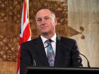 El primer ministro de Nueva Zelanda John Key