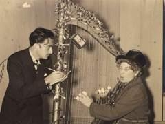 Salvador Dalí y Harpo Marx formaron una pareja artística