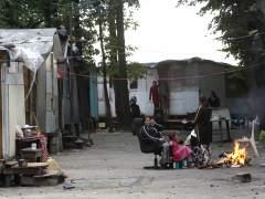Campamento de rumanos
