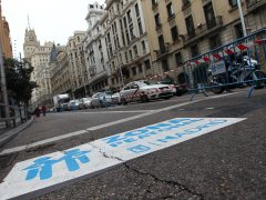Carmena evaluará que se peatonalice la Gran Vía en su integridad