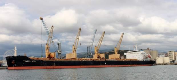El puerto de Málaga registra la mayor operativa de tráfico agroalimentario realizada a bordo de un solo buque