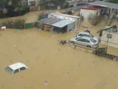 Inundaciones helicoptero guardia civil diciembre 2016 Málaga