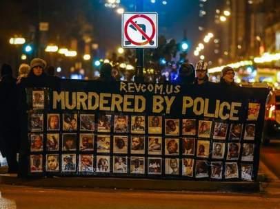 Marcha en Chicago por el 'Black lives matter'