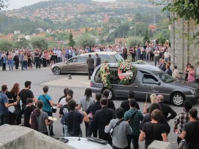 Funeral del batería de Los Piratas