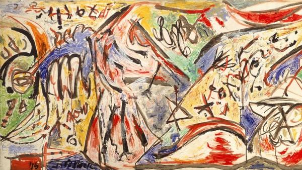 Jackson Pollock - The Water Bull, 1946