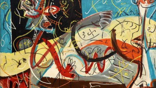 Jackson Pollock - Stenographic Figure, 1942