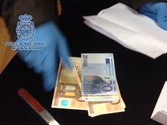 Desmantelado un grupo especializado en la fabricación de euros falsos