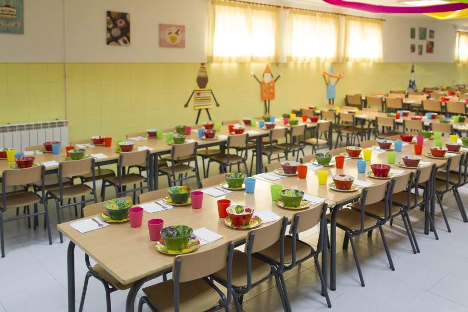 unos 800 alumnos de castilla-la mancha usarán los comedores