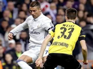 Cristiano ante el Borussia Dortmund