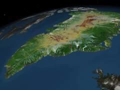 La blanca y helada isla de Groenlandia... ¿era verde?