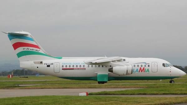 Avión de Lamia