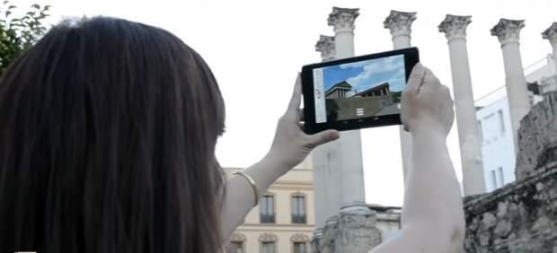 La 'app' gratuita 'VirTimePlace' permite ver en realidad virtual ciudades en la antigüedad