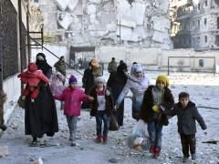 Entre 400 y 500 niños necesitan ser evacuados de Alepo oriental, según la ONU