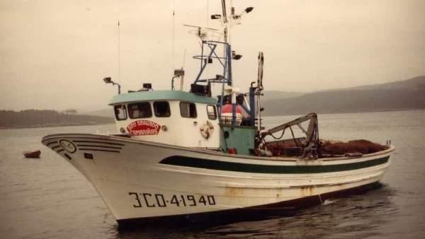Pesquero Siempre Urbegi hundido en Malpica