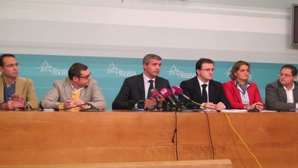 Presidente de la Diputación de Toledo, Alvaro Gutiérrez