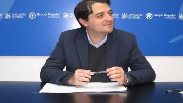 El portavoz del PP en el Ayuntamiento de Córdoba, José María Bellido