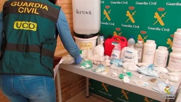 Guardia Civil desarticula una red de narcotráfico que utilizaba el 'drop-off'