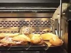 Clausuran una panadería en Pueblo Nuevo tras grabara a dos ratas en una vitrina