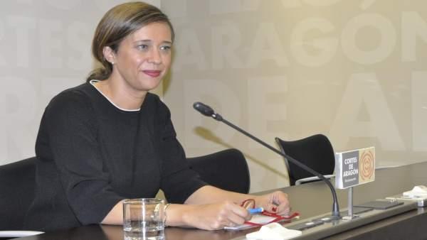 La portavoz adjunta del Grupo Parlamentario Popular de las Cortes, Marian Orós.