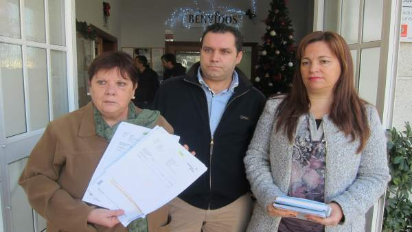 Representantes de vecinos de Vigo.