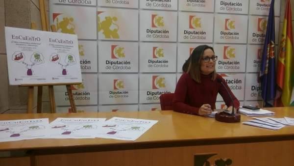 La delegada de Cooperación al Desarrollo en la Diputación, Ana Guijarro