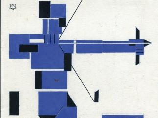 Theo Van Doesburg - Sagitario, 1921