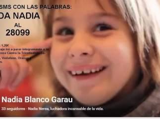 Campaña por Nadia Nerea en Internet