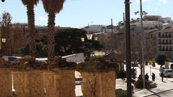 Cámara de vigilancia instalada  Alcalá la Real