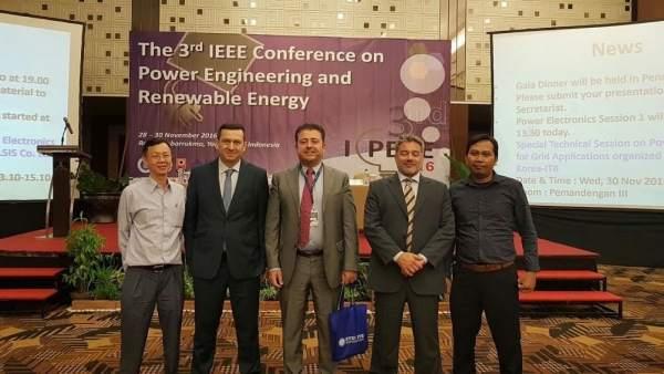 Proyecto Aurora de la UHU se presenta en Indonesia.
