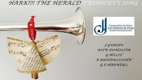 Trompetas en el Guggenheim