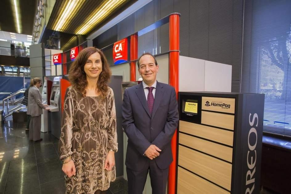 Correos instala un terminal de entrega autom tica de for Ibercaja oficinas zaragoza