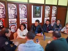 Pedro Sánchez ha celebrado en Asturias su segundo acto con militantes