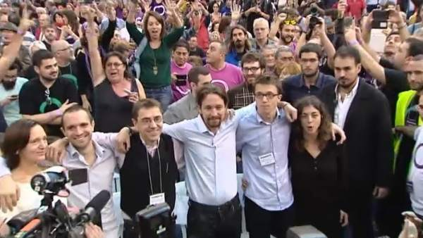 Luchas internas en Podemos ante Vistalegre II