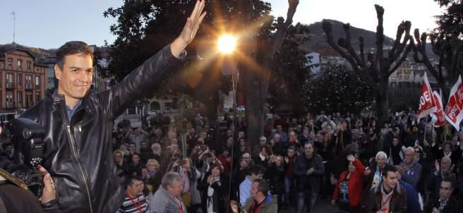 Pedro Sánchez en Asturias