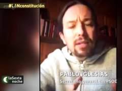 'La Sexta Noche' convierte a Pablo Iglesias en el líder del PSOE