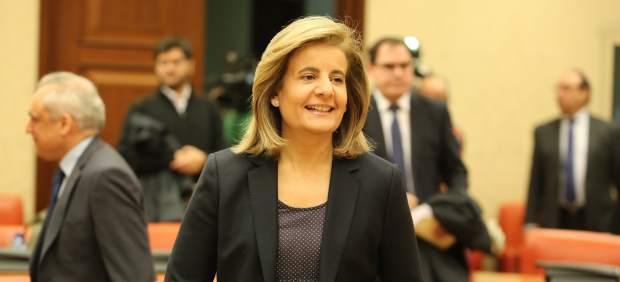 Fátima Báñez Comparece En La Comisión De Empleo Y Seguridad Social