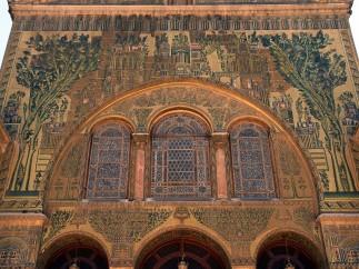 Mosquée des Omeyyades, mosaïques
