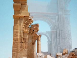 Palmyre - Arche, reconstruction 3D