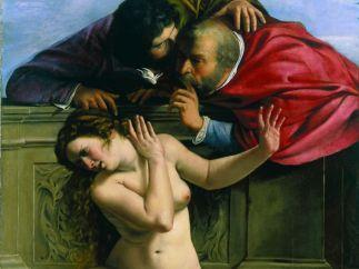 'Susanna e i vecchioni', 1610
