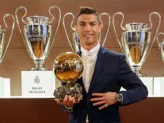 Cristiano Ronaldo logra su cuarto balón de Oro