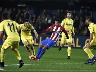 Angel Correa en el Villarreal-Atlético