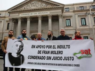 Apoyo a la absolución de Francisco Molero, ante el Congreso.