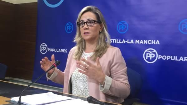 Lola Merino, diputada del Partido Popular en Castilla-La Mancha