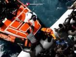 Más de 2.000 rescates en dos días en el Mediterráneo