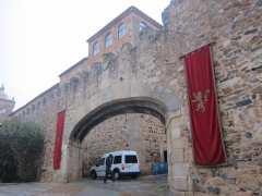 Rodaje de 'Juego de Tronos' en Cáceres