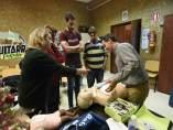 Una de las actividades en las jornadas del curso realizado.