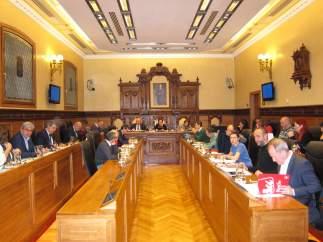 Pleno municipal en Gijón